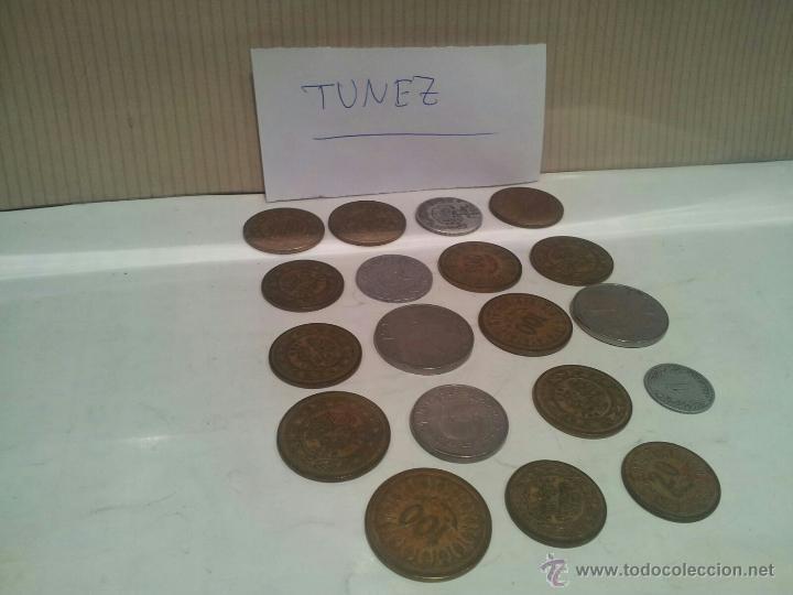 Monedas antiguas de África: lote de monedas de tunez ver fotos - Foto 3 - 50803349