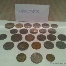 Monedas antiguas de África: LOTE DE MONEDAS DE MARRUECOS VER FOTOS. Lote 50807078