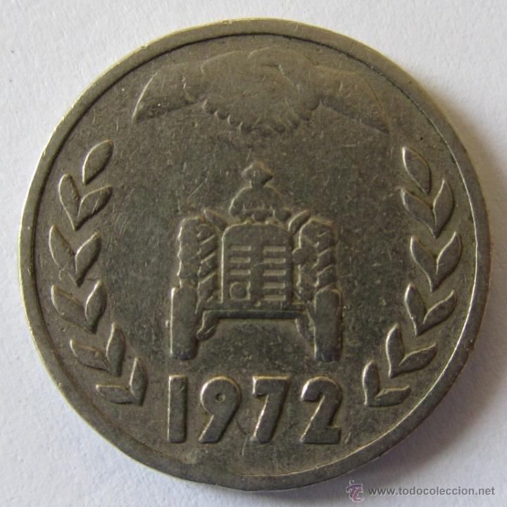 ARGELIA 1 DINAR 1972 KM 104-2 (Numismática - Extranjeras - África)