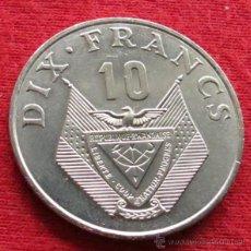 Monedas antiguas de África: RUANDA RWANDA 10 FR. 1985 UNC. Lote 163592660