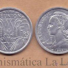Monedas antiguas de África: REUNION 2 FRANCS 1948 KM 8 SC UNC. Lote 165973557