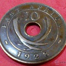 Monedas antiguas de África: ESTE DE AFRICA, 10 CENTIMOS DE 1928, JORGE V. Lote 53048293