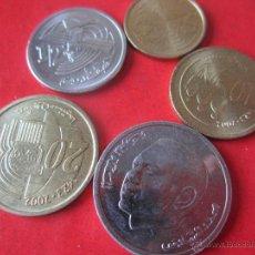 Monedas antiguas de África: MARRUECOS. SERIE DE 5 MONEDAS SIN CIRCULAR. 2002. Lote 53340937
