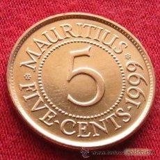 Old Coins of Africa - Mauricio 5 centavos 1999 Mauritius - 130529215