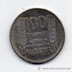 Monedas antiguas de África: ARGELIA. 100 FRANCOS. AÑO 1950.. Lote 54368468