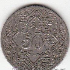 Monedas antiguas de África: MARRUECOS. EMPIRE CRERIFIEN. 50 CÉNTIMOS. SIN FECHA (1921). MBC.. Lote 54513462