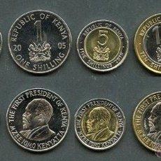 Monedas antiguas de África: KENIA - SERIE COMPLETA - 1995/2010 - SIN CIRCULAR. Lote 54673564