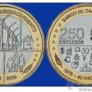 Monedas antiguas de África: CABO VERDE 2015 250 ESCUDOS. 40 AÑOS INDEPENDENCIA BIMETALICA . Lote 95963944
