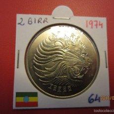 Monedas antiguas de África: ETHIOPIA 2 BIRR 1974 KM64 SC. Lote 56515481
