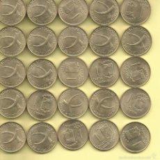 Monedas antiguas de África: LOTE 25MONEDAS DE PESETAS DE GUINEA ECUATORIAL ESPAÑOLA 1969 *19-69 S/C. Lote 245127370