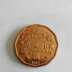 Monedas antiguas de África: MONEDA UGANDA 2 SHILLINGS - CHELINES 1987. SC. Lote 57752642