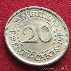 Old Coins of Africa - Mauricio 20 cent 1987 Mauritius UNC - 130528802