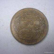 Monedas antiguas de África: TUNEZ, COLONIA DE FRANCIA. 5 CENTIMES DE COBRE DE 1912. Lote 59208110