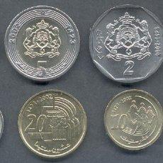 Monedas antiguas de África: SERIE MARRUECOS 8 MONEDAS. Lote 167899028