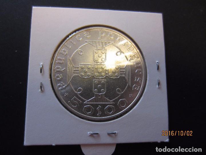 Monedas antiguas de África: SANTO TOME Y PRINCIPE 50 ESCUDOS 1970 KM21 SC PLATA - Foto 2 - 61679416