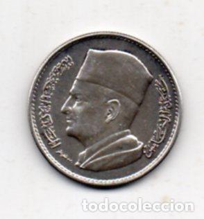 Monedas antiguas de África: Marruecos. 1 Dirham. Año 1960. Plata. - Foto 2 - 64307439