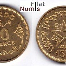 Monedas antiguas de África: MARRUECOS - 10 FRANCOS - 1371 - Y.49 - SIN CIRCULAR. Lote 64975647