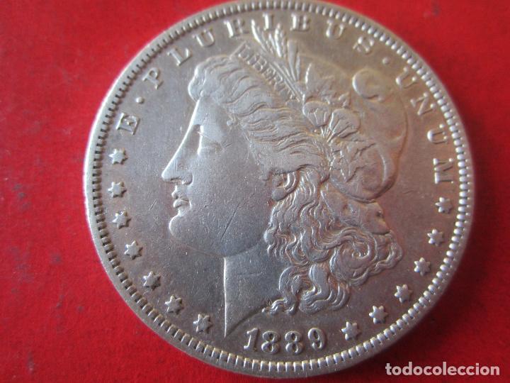 ESTADOS UNIDOS. 1 DÓLAR DE PLATA.1889. #MN (Numismática - Extranjeras - África)