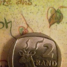 Monedas antiguas de África: 2 RAND 1989 SUDAFRICA MONEDA. Lote 71738187