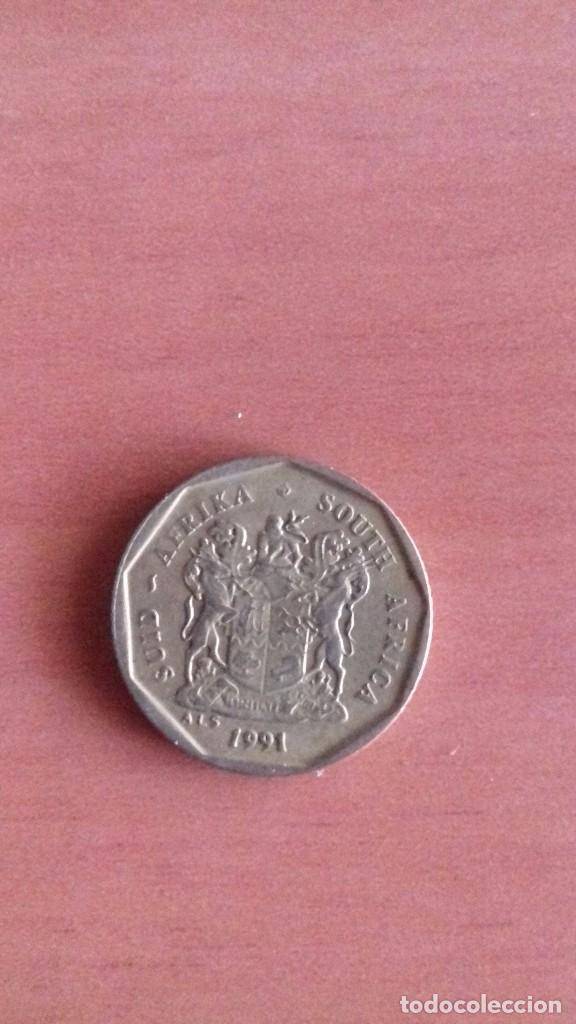 MONEDA 10 C SUDAFRICA 1991 (Numismática - Extranjeras - África)
