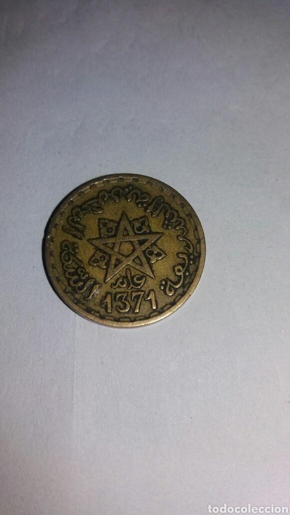 10 FRANC MAROC 1371 (Numismática - Extranjeras - África)
