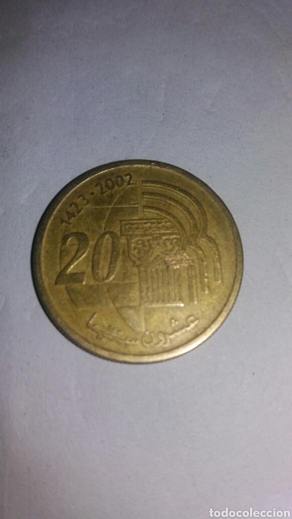 MONEDA ÁRABE 1423-2002 (Numismática - Extranjeras - África)