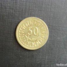 Monedas antiguas de África: TUNISSIA - 50 CENTIMES - EBC. Lote 77385469