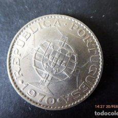 Monedas antiguas de África: MONEDA ANGOLA, 10 ESCUDOS, 1970 S/C.. Lote 77448837