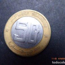 Monedas antiguas de África: ARGELIA , 50 DINARS, AÑO 1992, BIMETALICA.. Lote 79783705