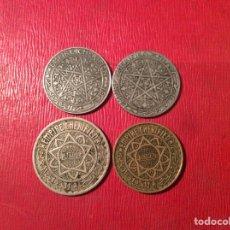 Monedas antiguas de África: LOTE MONEDAS MARRUECOS. Lote 80144029