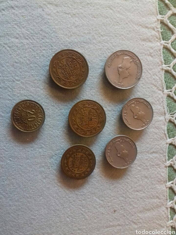 Monedas antiguas de África: Lote de 4 monedas de tunez - Foto 2 - 80215665
