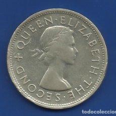 Monedas antiguas de África: RHODESIA DEL SUR (ACTUAL ZIMBABWE) 1 CORONA PLATA (CROWN) 1953 CENT. DE CECIL RHODES. Lote 81032876