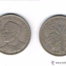 Monedas antiguas de África: MONEDA DE GAMBIA, 1971, 25 BUTUTS (LOTE 2). Lote 85194684