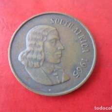 Monedas antiguas de África: SUD AFRIKA. 2 CENT. 1965. Lote 91731010