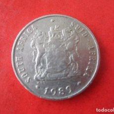Monedas antiguas de África: SUD AFRIKA. 10 CENT. 1989. Lote 91746975