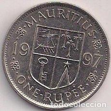Monedas antiguas de África: MAURICIO - 1 RUPIA 1997. Lote 92943365