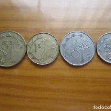 Monedas antiguas de África: LOTE NAMIBIA - 4 MONEDAS. Lote 93850060