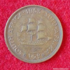 Monedas antiguas de África: MONEDA DE AFRICA - 1/2 MEDIO PENIQUE DEL AÑO 1953. Lote 94228895