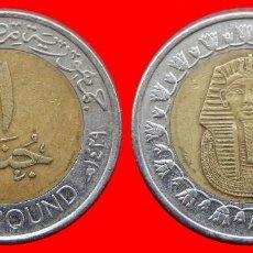 Monedas antiguas de África: 1 POUNS 2008 EGIPTO 1867T COMPRAS SUPERIORES 40 EUROS ENVIO GRATIS. Lote 96698467