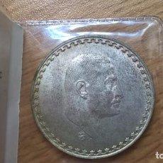 Monedas antiguas de África: EGIPTO. PLATA. 50 PIASTRAS DE 1970. NASSER. Lote 160178797