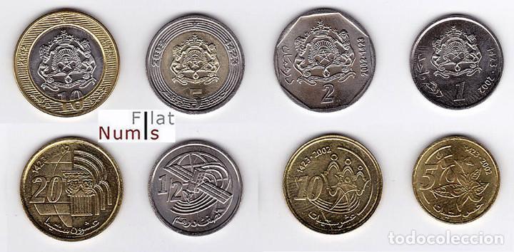 MARRUECOS - SERIE COMPLETA - 2002 - SIN CIRCULAR (Numismática - Extranjeras - África)