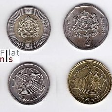 Monedas antiguas de África: MARRUECOS - SERIE COMPLETA - 2002 - SIN CIRCULAR. Lote 97449239