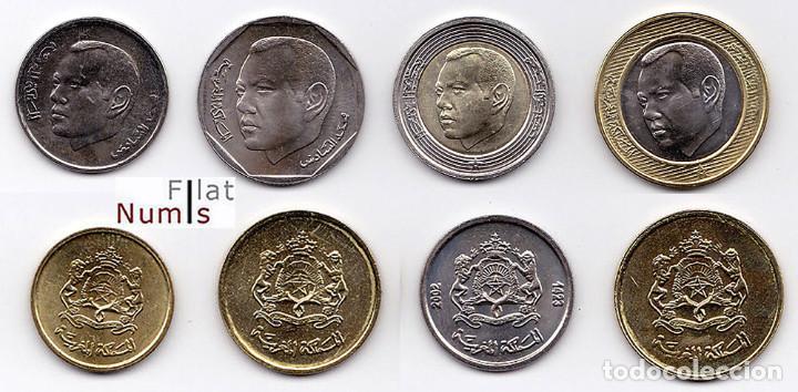 Monedas antiguas de África: MARRUECOS - SERIE COMPLETA - 2002 - SIN CIRCULAR - Foto 2 - 97449239