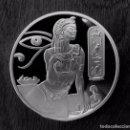 Monedas antiguas de África: MONEDA DE PLATA PLATEADO CLEOPATRA COLECCIONISTAS CON PIRÁMIDE Y ISIS INVERSA DE 1 OZ 29G. Lote 98639351