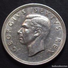 Monedas antiguas de África: SUDÁFRICA 5 CHELINES 1948 JORGE VI REF. 2 -PLATA-. Lote 98951923