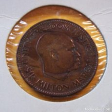 Monedas antiguas de África: MONEDAS DEL MUNDO SIERRA LEONA 1964 1/2 CENTAVOS. Lote 98973651