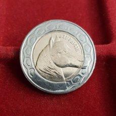 Monedas antiguas de África: ARGELIA ALGERIA 100 DINARS ARABIAN HORSE 2017 KM NUEVO BIMETALICA SC UNC. Lote 99390023