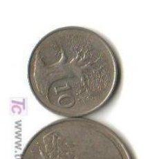 Monedas antiguas de África: ZIMBABWE - LOTE DE 2 MONEDAS (VALORES 50 Y 10 CENTAVOS) 1980 MBC RARAS EN ESTA FECHA . Lote 99829967