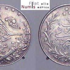 Monedas antiguas de África: EGIPTO - 5 QIRSH - AH1327/6 - 1913 - PLATA - ESCASA - E.B.C++. Lote 100026695
