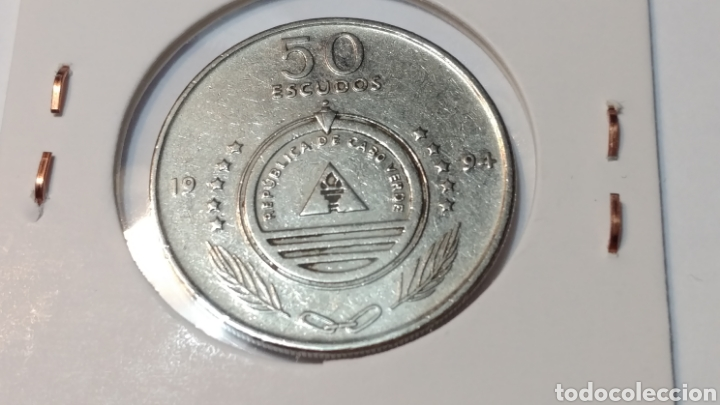 Monedas antiguas de África: Cabo verde 50 escudos 1994 macelina - Foto 2 - 101657959
